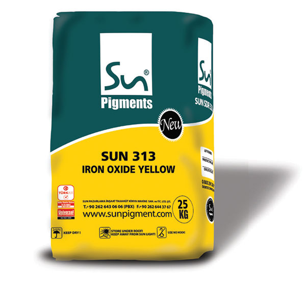 Sun SDY 313 Iron Oxide Yellow